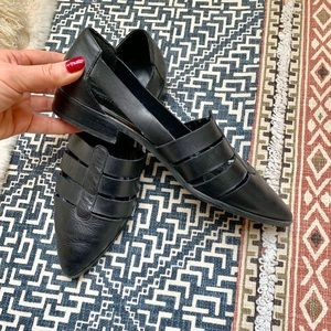 Chinese Laundry black leather shoes